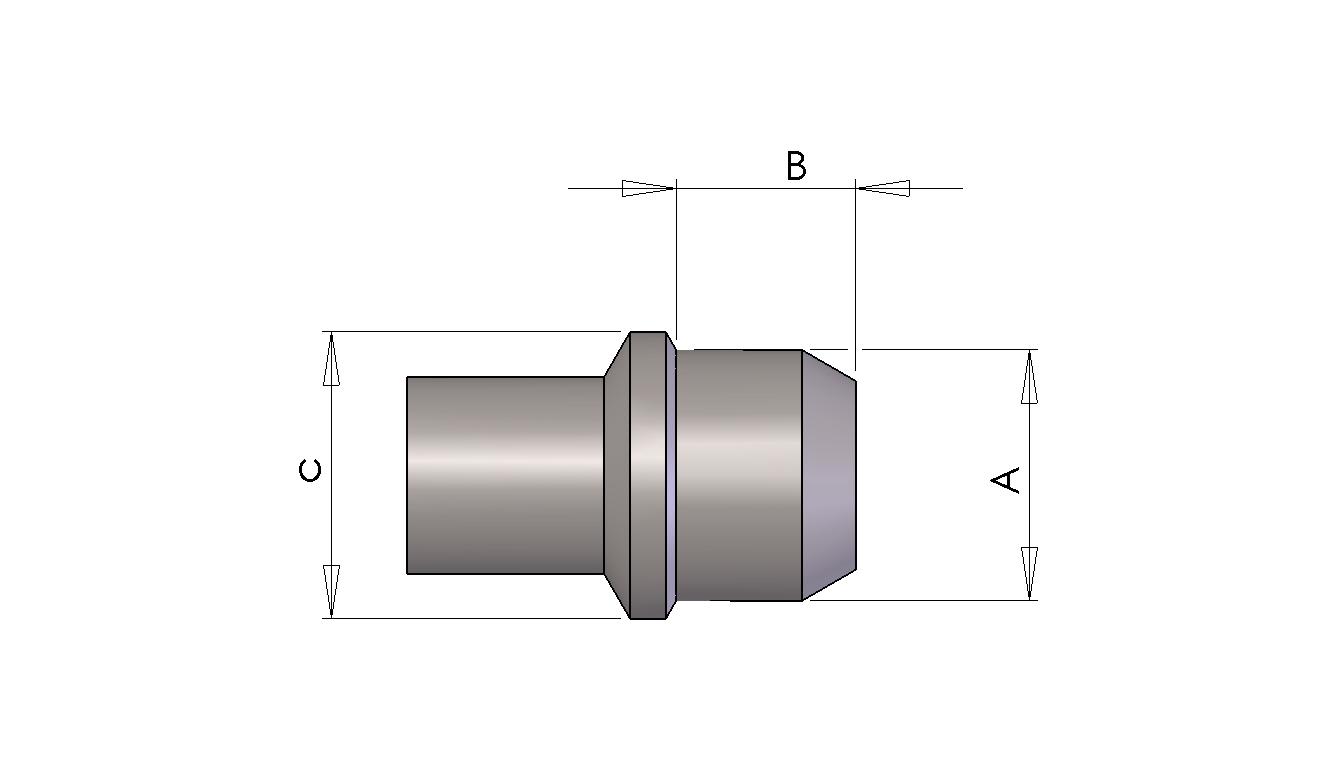 Schéma du Bouchons compacts trous taraudés